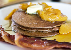 Overnight Buckwheat Pancakes