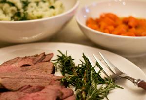 Leg of Lamb Dinner